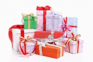 christmas-gift-isolated-over-white-background