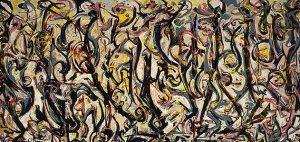 Jackson Pollock, Mural, 1943