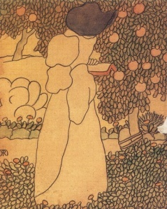 """Woman in the Garden,"" Jószef Rippl-Rónai"