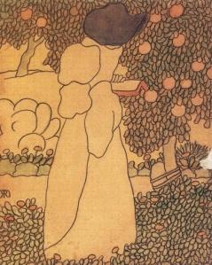 """""""Woman in the Garden,"""" Jószef Rippl-Rónai"""