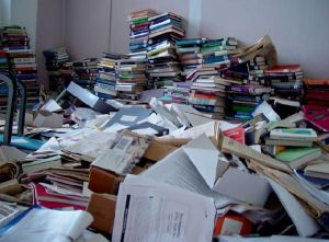 Does your book room look like this?