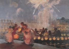 """Gaston La Touche, """"The Joyous Festival"""""""
