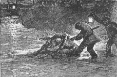 """""""All that remained of Eustacia Vye,"""" illustration by Arthur Hopkins"""