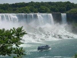 Maid of the Mist at Niagara Falls