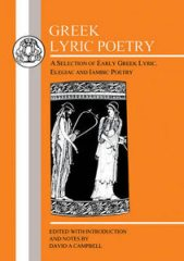 Greek lyric poetry