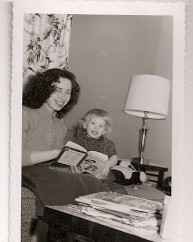Mom and I reading Baby Farm Animals.