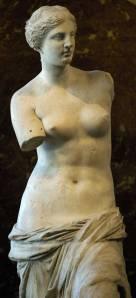 Aphrodite of Melos (Venus de Milo), 130 - 100 BC