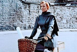 "First I posted a picture of myself as a schoolmarm, but then I realized we'd all rather see Maggie Smith in ""The Prime of Miss Jean Brodie"""