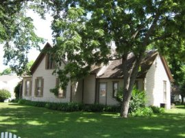 Willa Cather's home