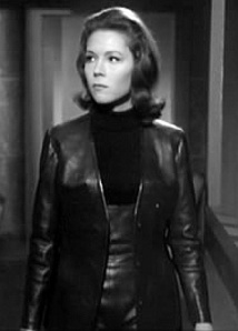 Emma Peel (Diana Rigg) in The Avengers:  Was that the idea?