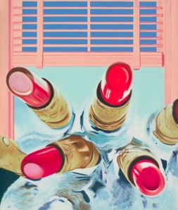 "Detail, ""House of Fire II,"" by James Rosenquist"