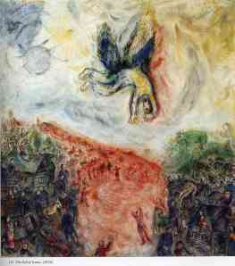 """The Fall of Icarus,"" Marc Chagall"