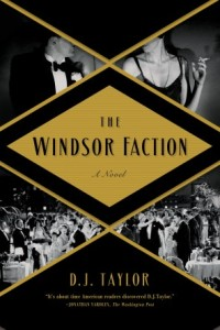 Windsor Faction d. j. taylor