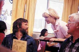 """Ellen Burstyn and Chris Christopherson in """"Alice Doesn't Live Here Any More."""