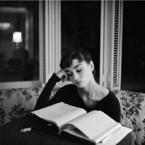 Audrey Hepburn:  not a literary critic.