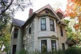 Summit Street Victorian house
