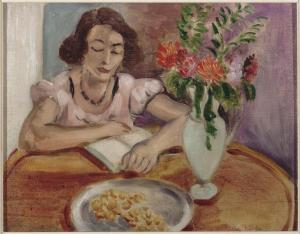 """Reading Girl,"" by Matisse"