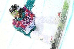 Torah Bright, silver medalist in half-pipe Sochi