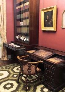 Dickens' desk.