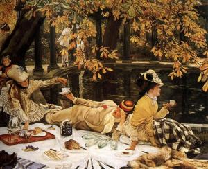 The Picnic by James Tissot