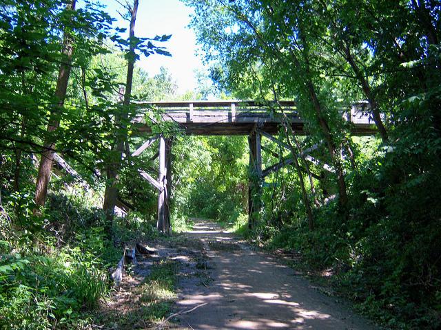 Wabash Trace Nature Trail Mirabile Dictu