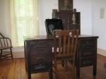 Suckow's desk and typewriter