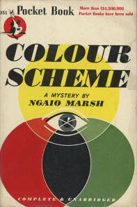 Colour Scheme Ngaio Marsh