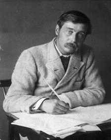 Sexy H. G. Wells had affairs with Elizabeth von Arnim, Rebecca West, Violet Hunt, and Amber Reeves.