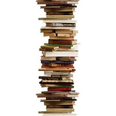 books piles pile reading nightstand problem read