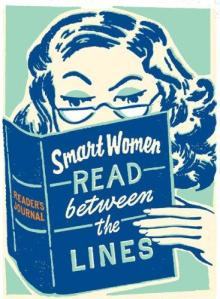 smart women read between the lines woman reading tumblr_m4bw1ln3kR1rnvzfwo1_400