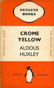 aldous huxley cromeyellow