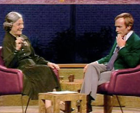 Mary McCarthy and Dick Cavett