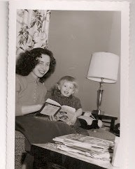My mother reading to me.