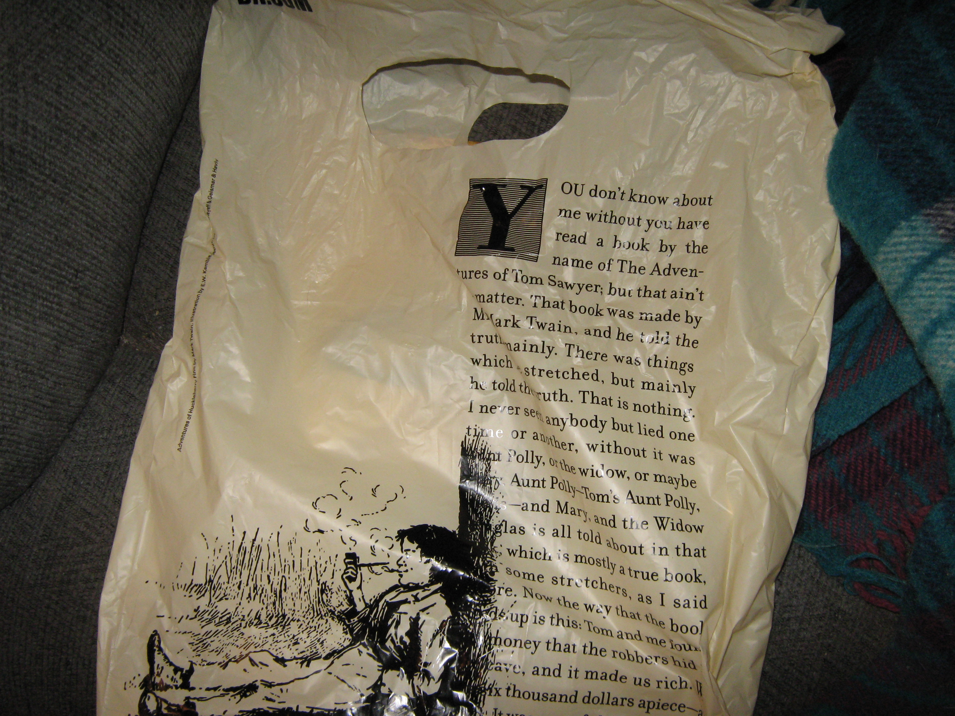 New Barnes Noble Bags Penny Dreadfuls mirabile dictu
