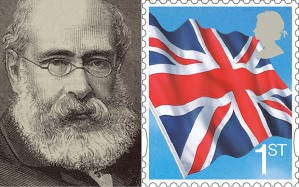 New Trollope stamp in the UK.