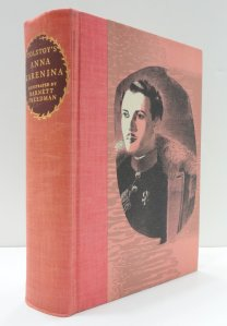 Heritage Press edition of Anna Karenina.