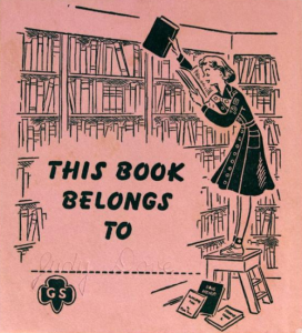 vintage book plate from 1940s:50s tumblr_nl14rfHBE61srvsa9o1_500