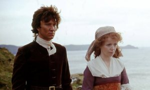 Ross Poldark (Robin Ellis) and Demelza (Angharad Reese):  A softer look