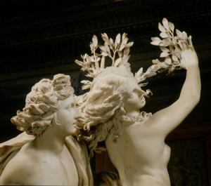 Bernini's sculpture of Apollo and Daphne
