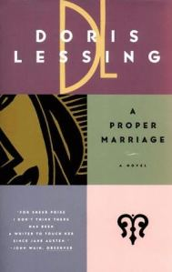 Doris Lessing A Proper Marriage 6a00d8341c674653ef012876eeae79970c