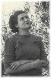 Doris Lessing in 1949, just before she left for London.