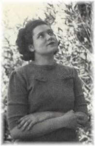Doris Lessing in 1949, just before she left for London.