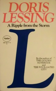 Lessing a ripple from the storm hardback 2154316