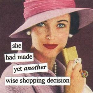 anne taintor shopping 27aca604e0d45210680200ba25ea2d11