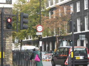 London, Doughty Street, near Dickens Museum