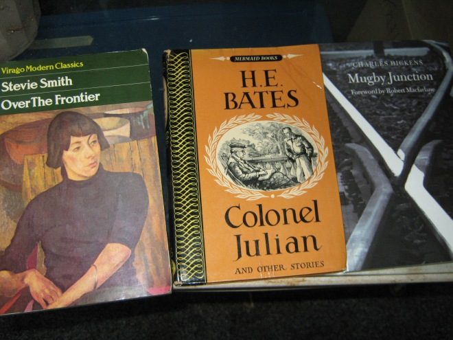 Some more books from my suitcase!