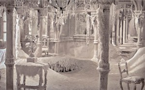 The ice palace in Dr. Zhivago