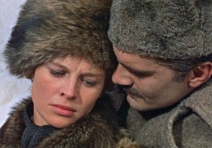Julie Christie and Omar Sharif in
