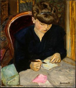 The Letter (1906), by Pierre Bonnard
