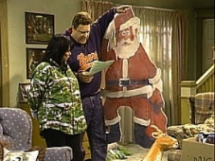 Roseanne white trash christmas santa 2877794